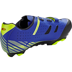 Northwave Origin Plus Zapatillas Hombre, blue/yellow fluo